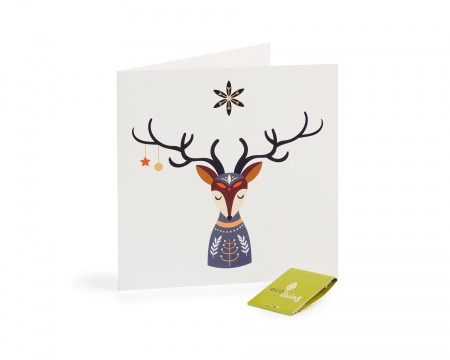 Recycled Christmas Cards - Scandinavian Folk (FSC 100%)