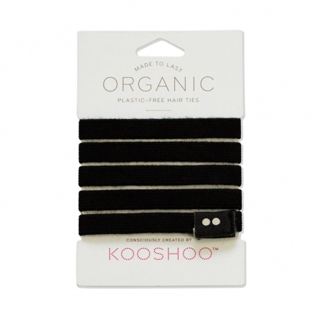 KOOSHOO Plastic Free Hair Ties - Black Trade