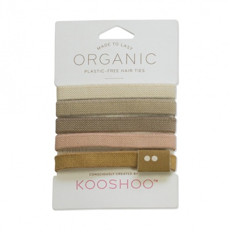 KOOSHOO Plastic Free Hair Ties - Blond Trade