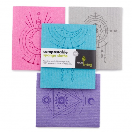 Compostable Sponge Cleaning Cloths - Spiritual