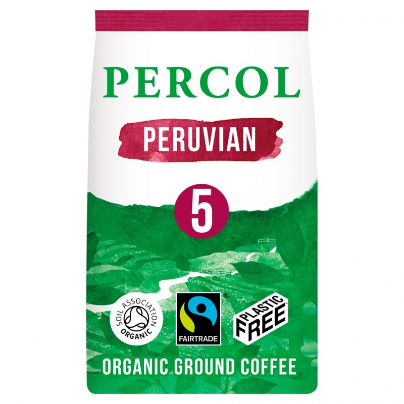 Percol Plastic Free Ground Coffee