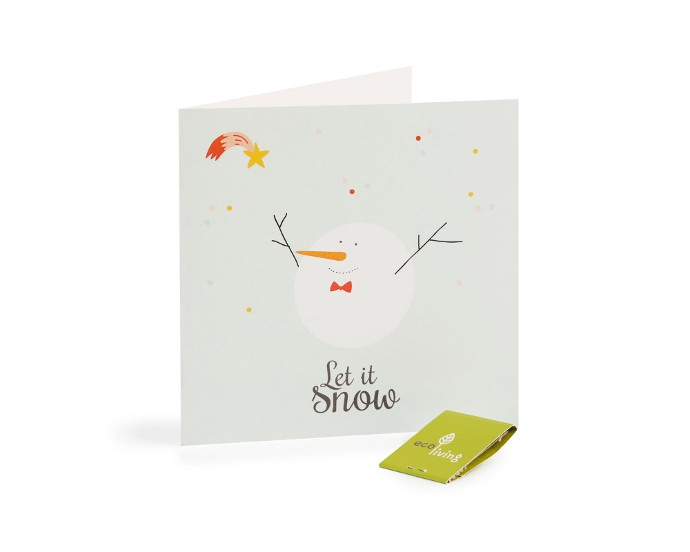 Recycled Christmas Cards - Cute Animal Cards (FSC 100%)