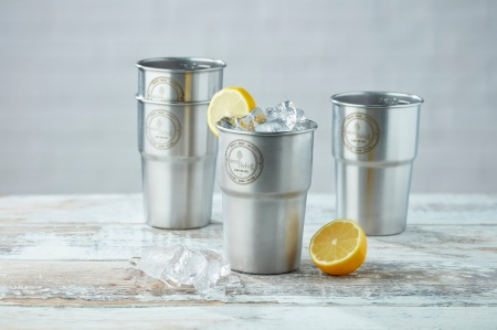 British Stainless Steel Cup - UK Pint (Single Cup) Trade